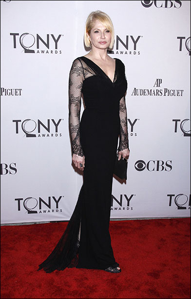 Ellen Barkin at the 2011 Tony Awards