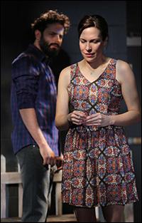 Luke Kirby and Rebecca Henderson