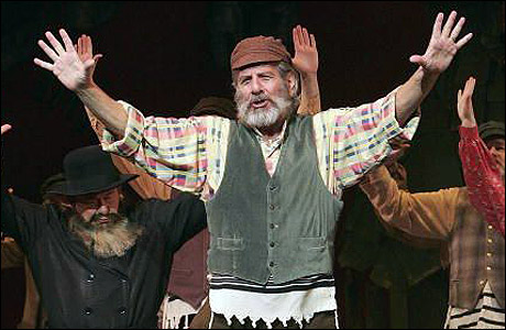 Topol Is Tevye In New Fiddler Tour With Stout Cella