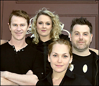 The cast of <i>[title of show]</i>.
