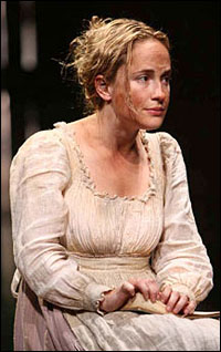 Morgan Hallett as Sarah in MTC's <i>Translations</i>.
