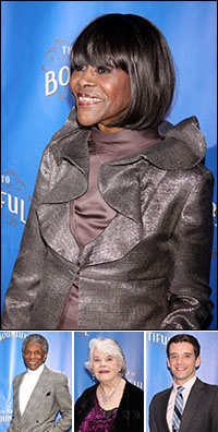 Cicely Tyson; guests Andre de Shields, Lois Smith and Michael Urie
