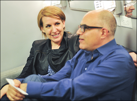 Susan Blackwell and David Yazbek