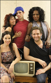 Jenna Leigh Green, Mindy Sterling, Curt Hansen, Sheryl Lee Ralph and Colin Hanlon