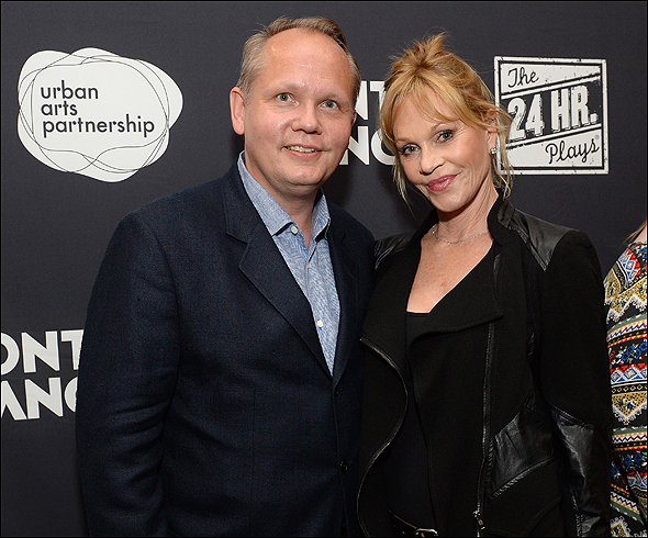 Jan-Patrick Schmitz and Melanie Griffith