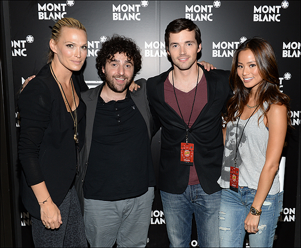 Molly Sims, David Krumholtz, Ian Harding and Jamie Chung