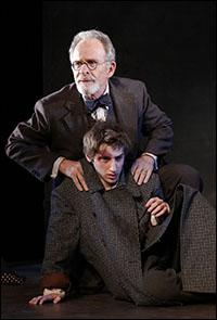 Ron Rifkin and Noah Robbins