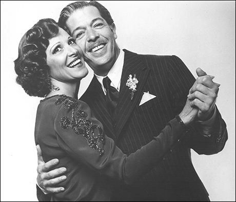 Linda Lavin and Jonathan Hadary in the 1989 revival