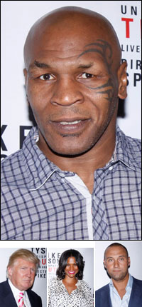 Mike Tyson; guests Donald Trump, Nia Long and Derek Jeter