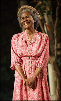 Cicely Tyson in the Broadway production <i>The Trip To Bountiful</i>