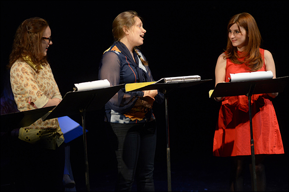 Rachel Brosnahan, Merritt Wever and Aya Cash