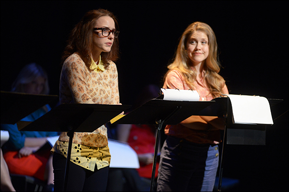Rachel Brosnahan and Lisa Joyce