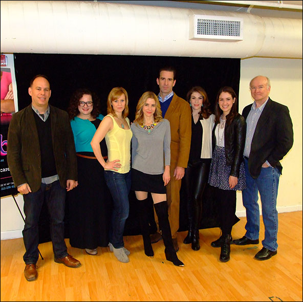 Andrew Polk, Dierdre Friel, Megan Sikora, Kerry Butler, Matt Walton, Kate Loprest, Allison Strong and Ed Hyland