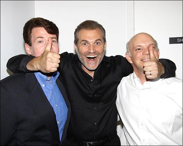 John Easterlin, Marc Kudisch and Eddie Korbich