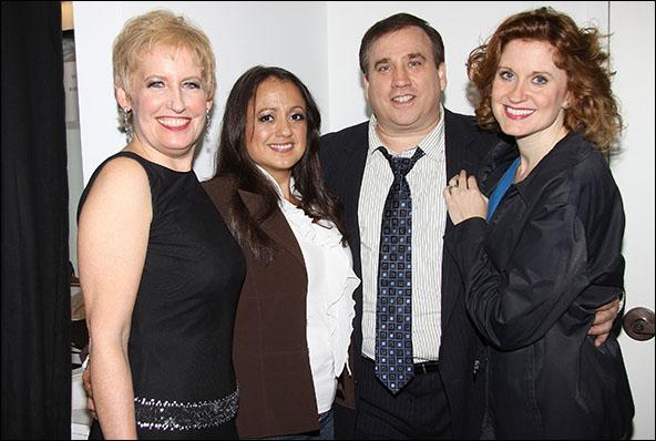 Liz Callaway, Natalie Toro, Bill Daugherty and Christiane Noll