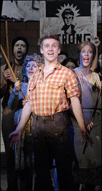 The Chicago production of <i>Urinetown</i>.