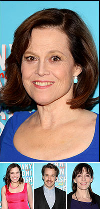 Sigourney Weaver; guests Lindsay Mendez, T.R. Knight and Julia Murney