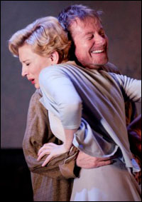 Cate Blanchett and Richard Roxburgh in <i>Uncle Vanya</i>.