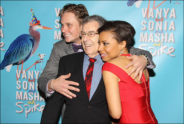 Billy Magnussen, Nicholas Martin and Shalita Grant