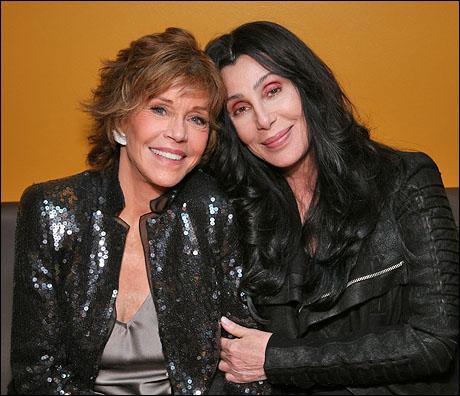 Jane Fonda and Cher