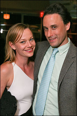 Samantha Mathis and Greg Keller