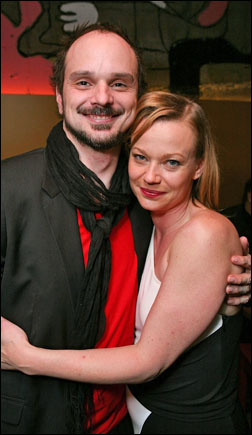 Grant James Varjas and Samantha Mathis
