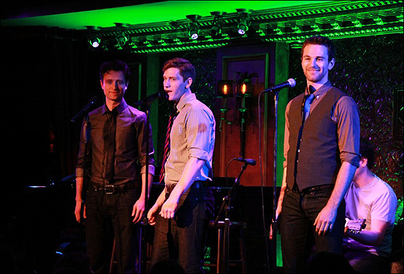 Kevin Massey, Patrick Massey and Jamison Scott