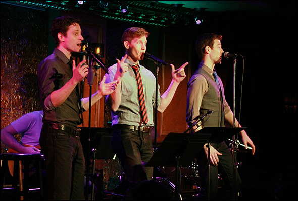 Shubert Alley - Kevin Massey, Jamison Scott and Patrick Massey