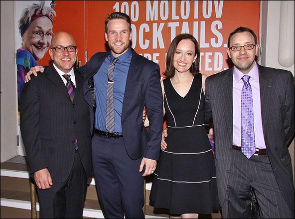 Eric Rosen, Claybourne Elder, Melissa van der Schyff and Nicholas Stimler