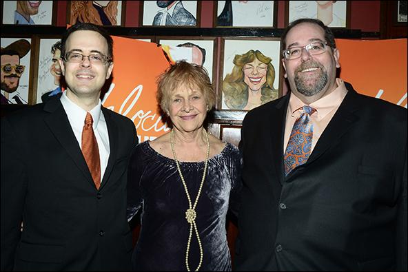Val Dean, Estelle Parsons and Larry Kaye