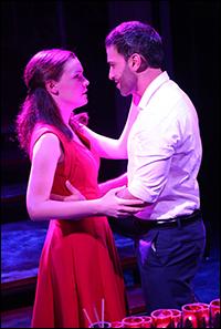 Jennifer Damiano and Haaz Sleiman