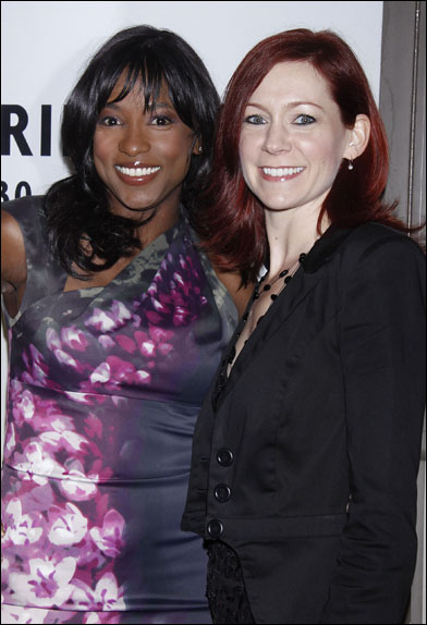 Rutina Wesley and Carrie Preston