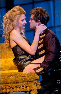 Nina Arianda and Hugh Dancy