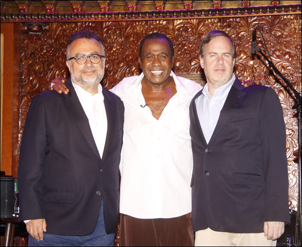 Richard Frankel, Ben Vereen and Marc Routh