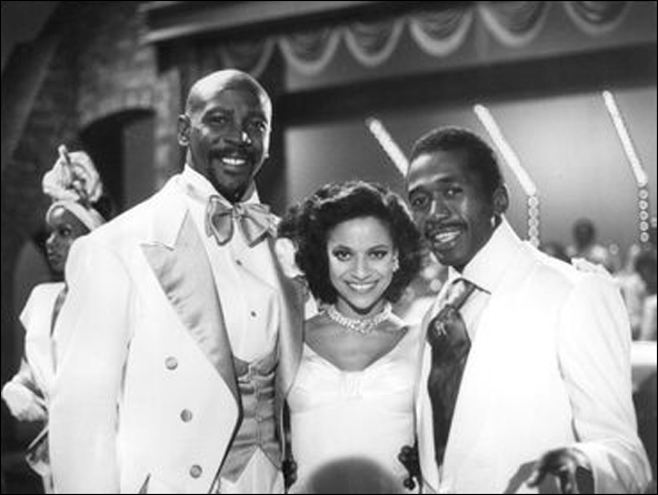 Louis Gossett Jr., Debbie Allen and Ben Vereen in the TV special The Sentry Collection Presents Ben Vereen: His Roots, 1978