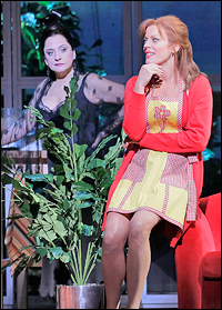 Patti LuPone and Sherie Rene Scott in <i>Women on the Verge of a Nervous Breakdown</i>