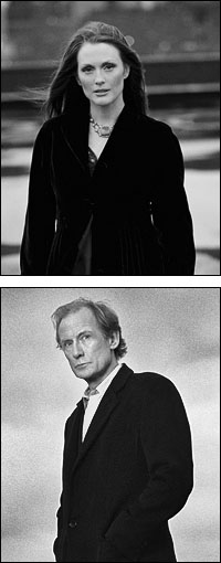 Julianne Moore and Bill Nighy