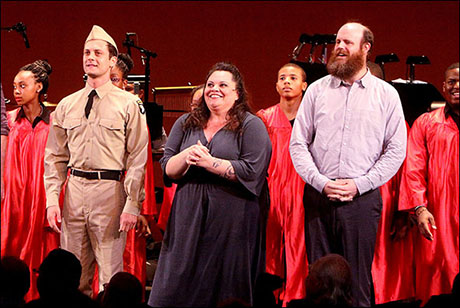 Settle was featured in the Encores! one-night-only concert presentation of Violet