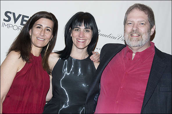 Jeanine Tesori, Leigh Silverman and Brian Crawley