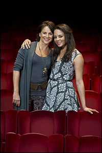 Sally Ann Triplett and Hannah John-Kamen