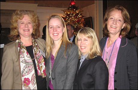 (L-R) Victoria Bailey, Marisa Wegryn, Carole Rothman and Heidi Ettinger