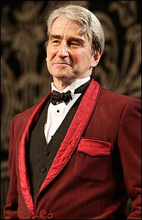Sam Waterston in <I>Travesties</I>