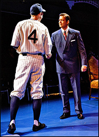 John Wernke and Chris Henry Coffey in <i>Bronx Bombers</i>