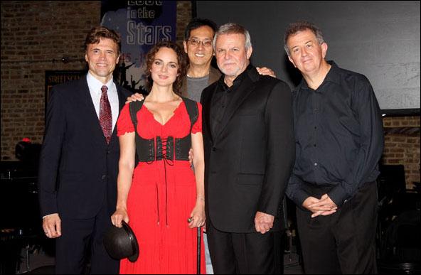 Brent Barrett, Melissa Errico, John Yap, Ron Raines and James Holmes