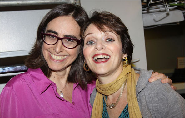 Eileen Weiss and Judy Blazer