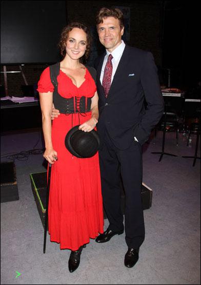 Melissa Errico and Brent Barrett