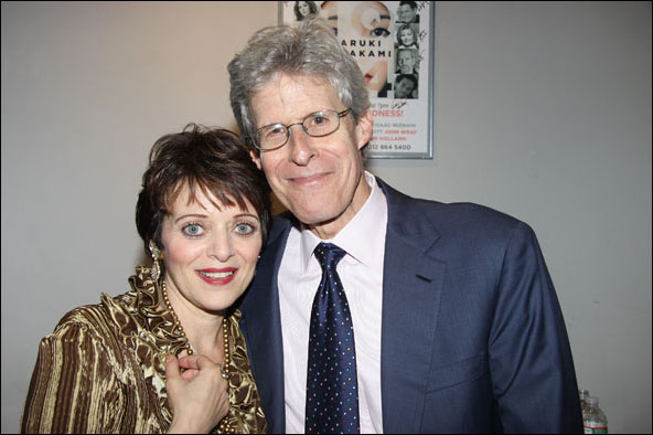 Judy Blazer and Ted Chapin