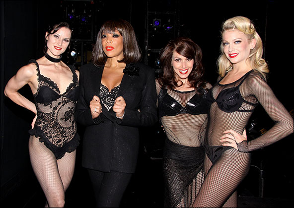 Jennifer Dunne, Wendy Williams, Donna Marie Asbury and Anne Horak