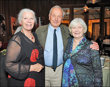 Artistic advisor Anne Keefe, playwright A. R. Gurney and Joanne Woodward