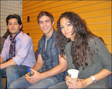 George Akram, Cody Green and Karen Olivo